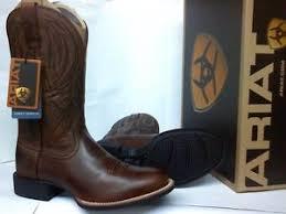 s quantum boots ariat cobalt quantum pro cowboy boots sz 8 5 w toe 12