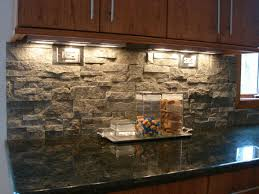 stunning stacked stone backsplash home design ideas pictures