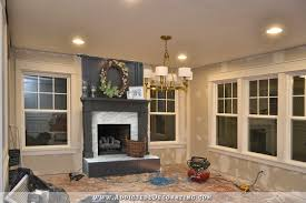 fireplace in living room beautiful dark gray black fireplaces