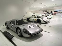 porsche dark green automotive history at the porsche museum in stuttgart the globe