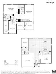 As Built Floor Plans Jadyn Bishop Landing Orlando Florida D R Horton