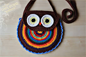 crochet owl purse pattern no 005 zoom crochet food