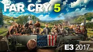 e3 2017 far cry 5 u0027s guns for hire and outdoor life in montana