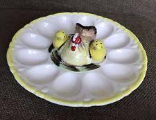 vintage deviled egg plates deviled egg plate ebay