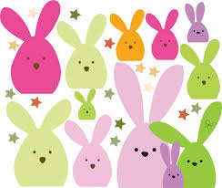 easter bunny decorations easter bunny wall and window stickers easter party decoration
