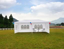 10 X 20 Shade Canopy by 20 X 20 White Pole Tent Outdoor Canopy Party Tents Wedding Rental
