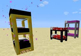 Minecraft How To Make A Bunk Bed 1 4 6 7 Ssp Smp Coloured Beds Mod V3 1 0 Forge 150 Beds