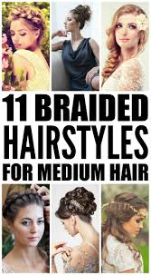 hair tutorials for medium hair 11 braided hairstyles for medium length hair