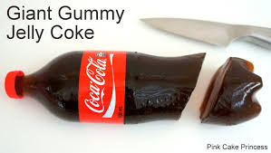 coke jelly bottle how to make a giant gummy coke bottle for