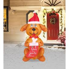airflowz christmas inflatables outdoor christmas decorations