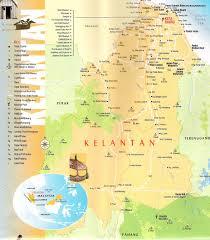 Map Of Malaysia This Is Map Of Kelantan Malaysia State Sabah Sarawak Map Of