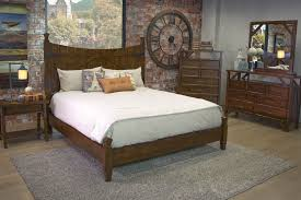 farmhouse barn door e king bed beds bedroom mor furniture