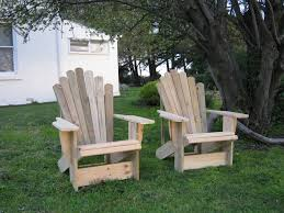 Patio Decor furniture beautiful teak adirondack chairs on grass for patio
