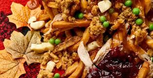 thanksgiving in a box poutine is here for a limited time daily