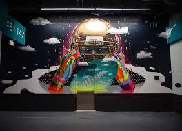 mural for the miami dolphins stadium by dasic fernandez street mural for the miami dolphins stadium by dasic fernandez