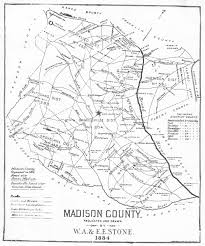 County Map Ga The Bozeman Adair Family