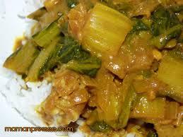 cuisiner les cotes de bettes recette de côtes de blettes aux épices maman presséemaman pressée