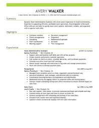 clean modern resume design administrative assistant resume exles for administrative assistant exles of resumes
