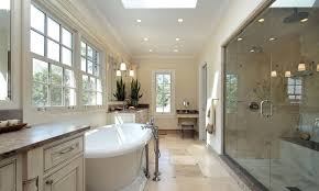 bathroom paint colors that go with brown tile light blue