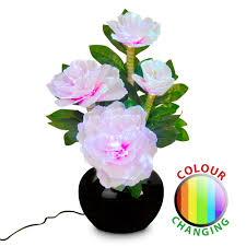 Flower Table Lamp Flower Uk Electrical Store Com