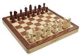 kasparov international master chess set amazon co uk toys u0026 games