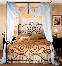 Iron Canopy Bed 145 Best Wrought Iron Beds Images On Pinterest Bedroom Ideas