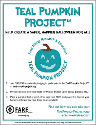 free download teal pumpkin project flyer print and pass out to