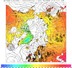 Winds Aloft Map Meteorological Charts Analysis Forecast North Atlantic Europe