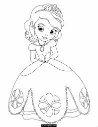 top tiana the princess coloring page source ev on free princess