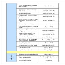 sample workout calendar templates