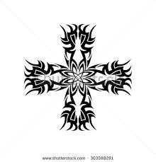 simple tribal tattoo vector illustration stock vector 497616988