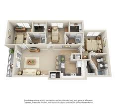 rates u0026 floor plans university villa apartments