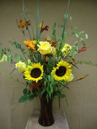 how to make a flower arrangement that welcomes fall the flower