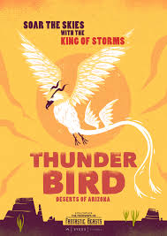 Arizona travel posters images Image fantastic beasts travel posters thunderbird png harry