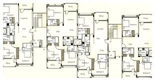 Apartment Blueprints Home Plans With Apartments Attached Shoise Com