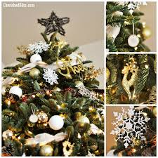 brown christmas tree sale white and gold rustic glam balsam hill christmas tree