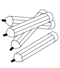 pencil coloring big small pencil gianfreda net