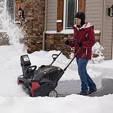black friday snowblower deals snow removal equipment sears