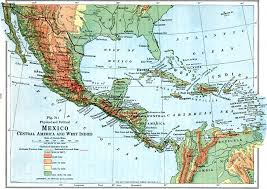 central america physical map 4447 jpg