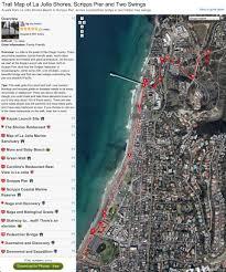 La Jolla Map Lajolla Hike Unpickled Blog