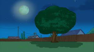 image empty backyard as shown at night jpg phineas and ferb