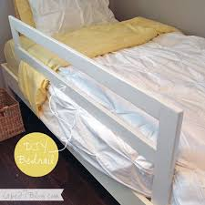 Build Your Own Wood Bunk Beds by Best 25 Bed Rails Ideas On Pinterest Toddler Bed Rails Bed