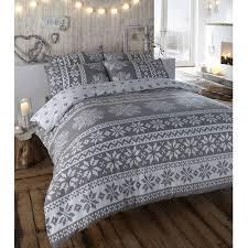 alpine polycotton reversible quilt duvet cover and 2 pillowcase