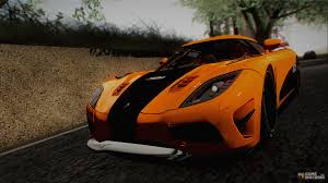 koenigsegg orange koenigsegg agera r 2011 stock version for gta san andreas