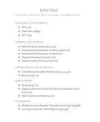 scholarship resume templates scholarship resume template geminifm tk