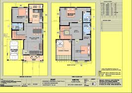 stunning 30x50 duplex house plans north facing images best