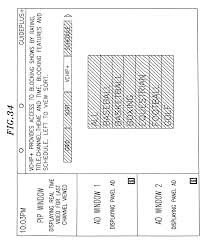 patent us8566871 multiple interactive electronic program guide