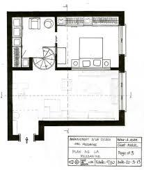 aménagement d u0027un studio avec mezzanine l u0027heure intérieure