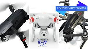 top 10 drones with the longest flight times 2017 edition