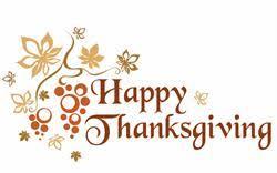 thanksgiving schedule notes